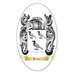 Janer Sticker (Oval 10 pk)