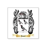 Janel Square Sticker 3