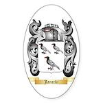 Janecki Sticker (Oval 50 pk)