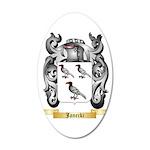 Janecki 35x21 Oval Wall Decal