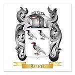 Janecek Square Car Magnet 3
