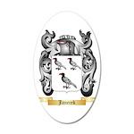 Janecek 20x12 Oval Wall Decal