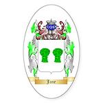 Jane Sticker (Oval 10 pk)