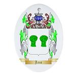 Jane Ornament (Oval)