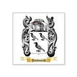 Jandourek Square Sticker 3