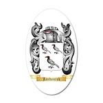 Jandourek 35x21 Oval Wall Decal