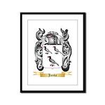 Janda Framed Panel Print