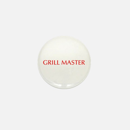 Grill Master-Opt red Mini Button