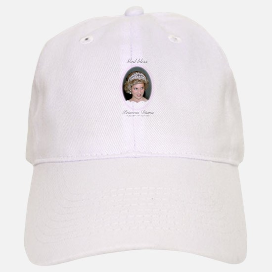 God Bless Princess Diana Baseball Baseball Cap