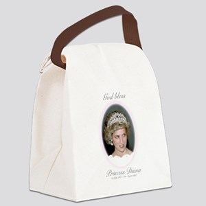 God Bless Princess Diana Canvas Lunch Bag