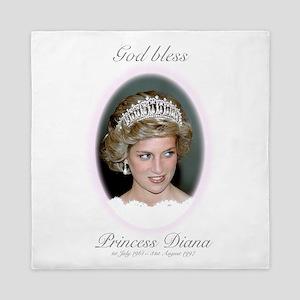God Bless Princess Diana Queen Duvet