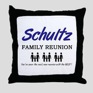 Schultz Family Reunion Throw Pillow