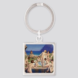 Classic nude art Keychains
