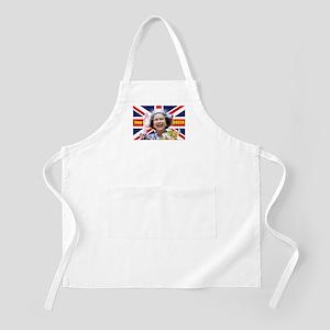 HM Queen Elizabeth II Great Britons! Apron