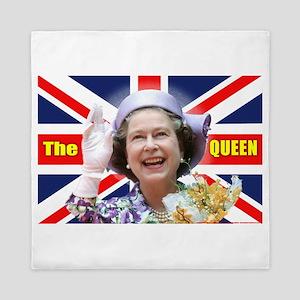 HM Queen Elizabeth II Great Britons! Queen Duvet