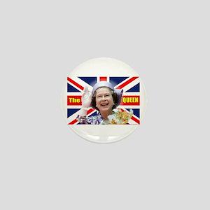 HM Queen Elizabeth II Great Britons! Mini Button