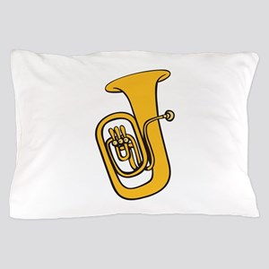 TUBA INSTRUMENT Pillow Case