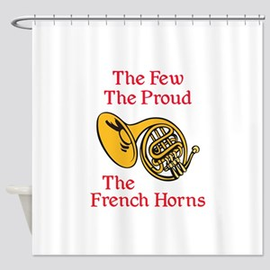THE FEW THE PROUD Shower Curtain