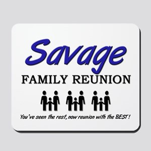Savage Family Reunion Mousepad