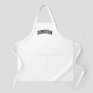 DONOVAN (curve-black) BBQ Apron
