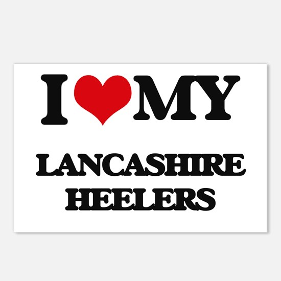 I love my Lancashire Heel Postcards (Package of 8)