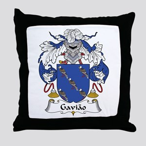 Gaviao Throw Pillow