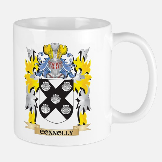 Connolly Coat of Arms - Family Crest Mugs