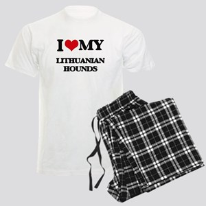 I love my Lithuanian Hounds Men's Light Pajamas