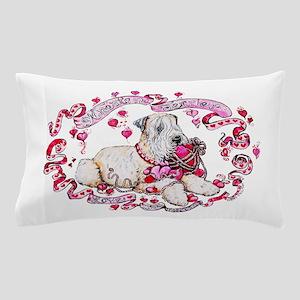 Wheaten Valentine Pillow Case