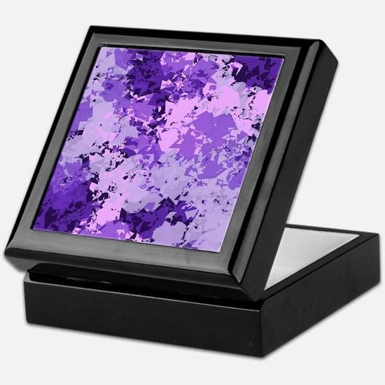 Purple Dreams Keepsake Box