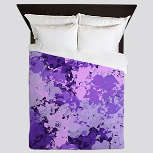 Purple Dreams Queen Duvet