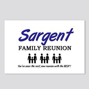 Sargent Family Reunion Postcards (Package of 8)