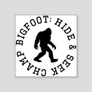 Bigfoot: Hide And Seek Champ Sticker
