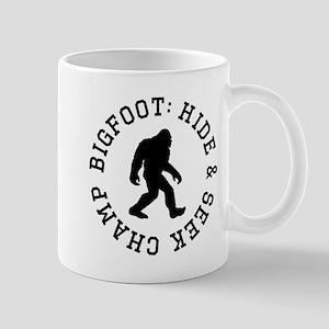 Bigfoot: Hide And Seek Champ Mugs