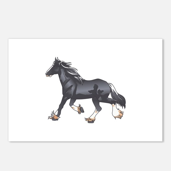 DRAFT HORSE Postcards (Package of 8)