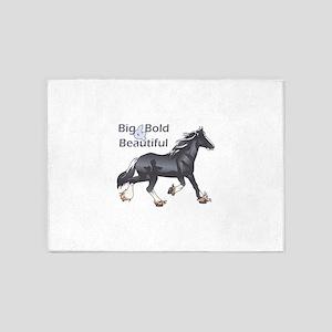 BIG BOLD AND BEAUTIFUL 5'x7'Area Rug