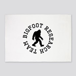 Bigfoot Research Team 5'x7'Area Rug