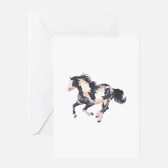 PAINT HORSE Greeting Cards