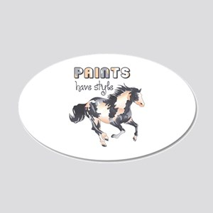 PAINTS HAVE STYLE Wall Decal