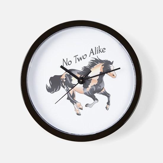 NO TWO ALIKE Wall Clock