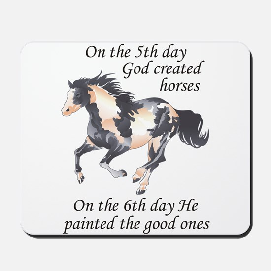 ON THE SIXTH DAY Mousepad