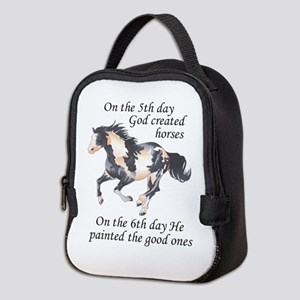 ON THE SIXTH DAY Neoprene Lunch Bag