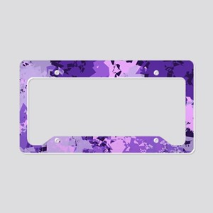 Purple Dreams License Plate Holder