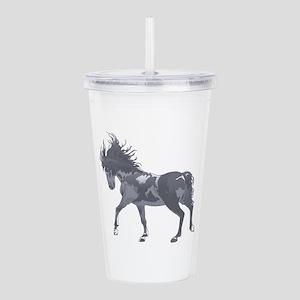SPIRITED HORSE Acrylic Double-wall Tumbler