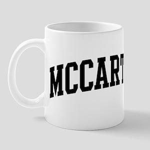 MCCARTHY (curve-black) Mug