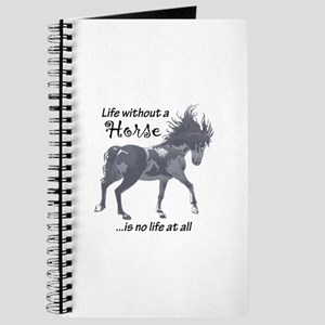 LIFE WITHOUT A HORSE Journal