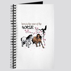 BORN IN YEAR OF HORSE Journal