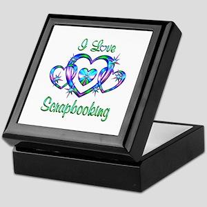 I Love Scrapbooking Keepsake Box
