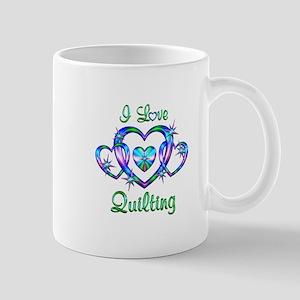 I Love Quilting Mug