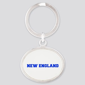 New England-Fre blue Keychains